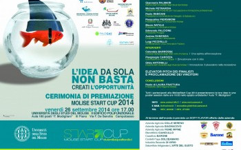 Presentation of the project to the Molise Start Cup 2014