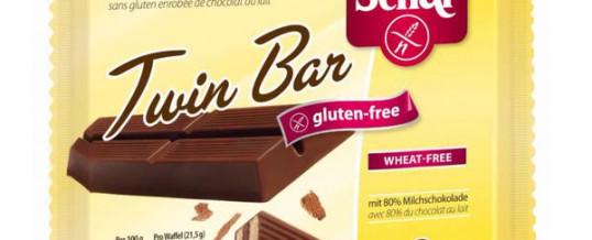 European alert for salmonella in chocolate bars Schär Twin Bar.