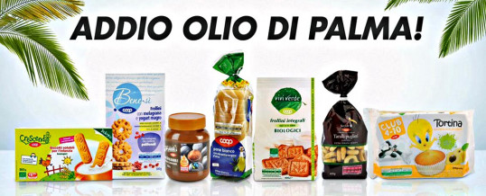 Palm oil: Coop withdraws from the shelves 120 private label products that contain tropical oil