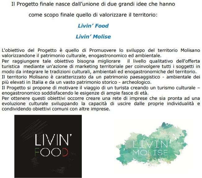 Livin Molise - Obbiettivi Progetto